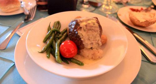 Sugar Mountain Catering roasted beef tenderloin sauce foyot