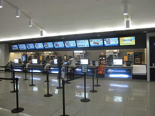 Landmark Cinemas concession
