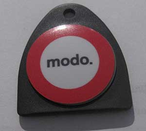 Your key (fob) to all Modo cars