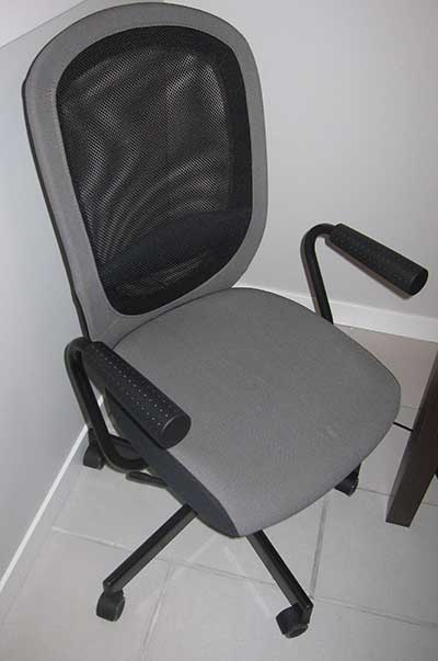 flintan ikea office chair review: simply comfortable | peter's